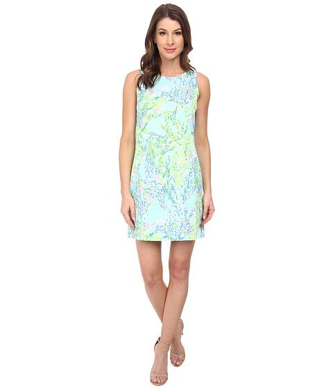 Lilly Pulitzer - Cathy Shift Dress (Skye Blue Blue Heaven) Women
