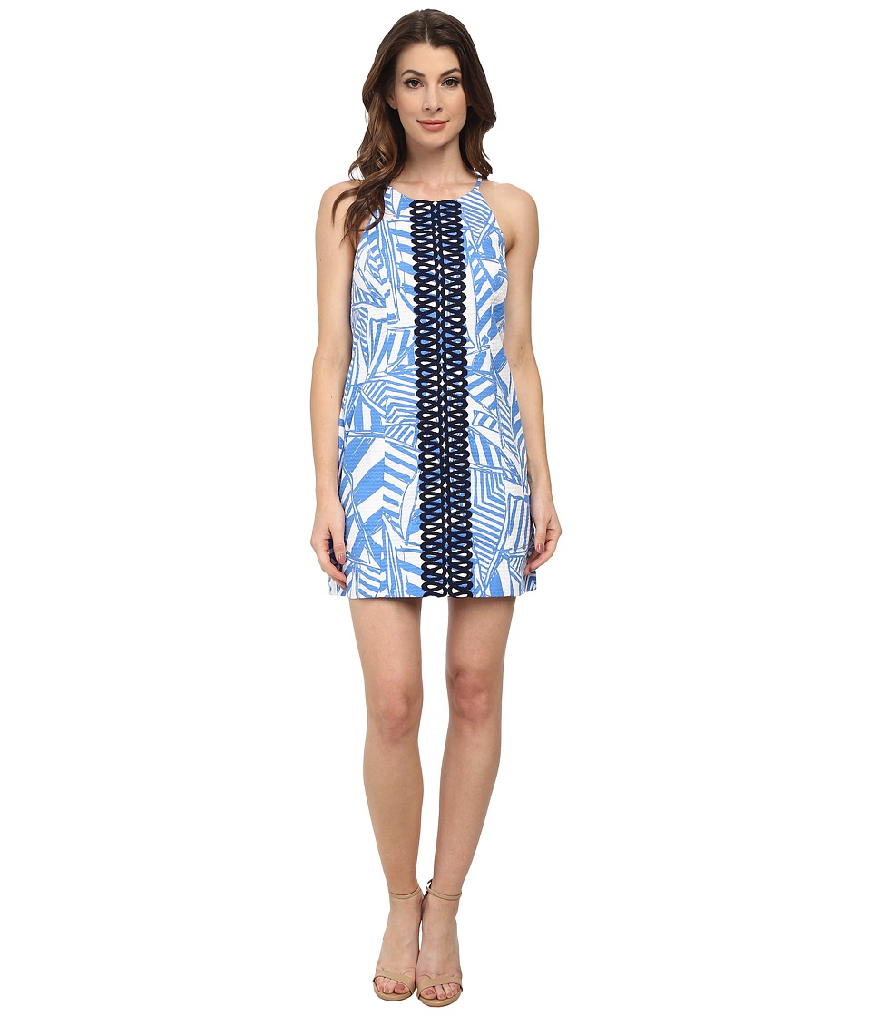 Lilly Pulitzer - Annabelle Shift Dress (Bay Blue Yacht Sea) Women's Dress