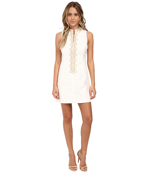 Lilly Pulitzer - Alexa Shift Dress (Resort White) Women's Dress