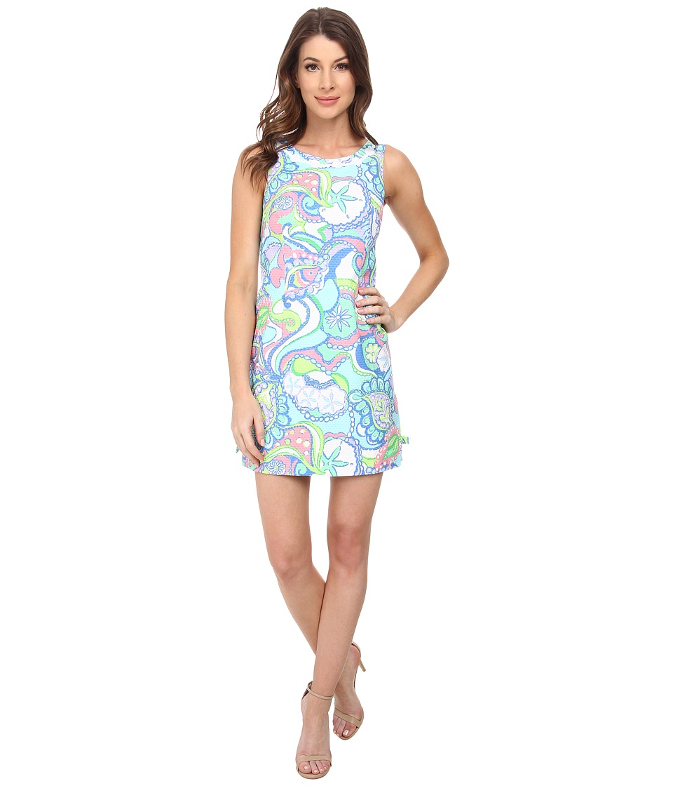 Lilly Pulitzer - Delia Shift Dress (Multi Conch Republic) Women's Dress