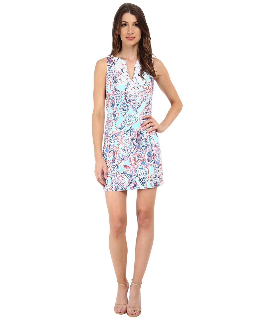 Lilly Pulitzer - Gabby Shift Dress (Multi Shell Me About It) Women's Dress