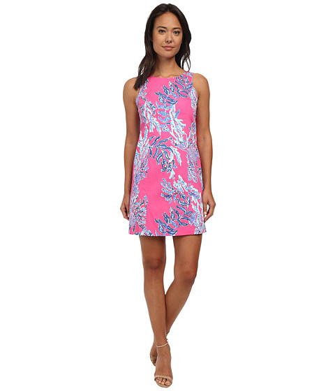 Lilly Pulitzer - Cathy Shift Dress (Capri Pink) Women