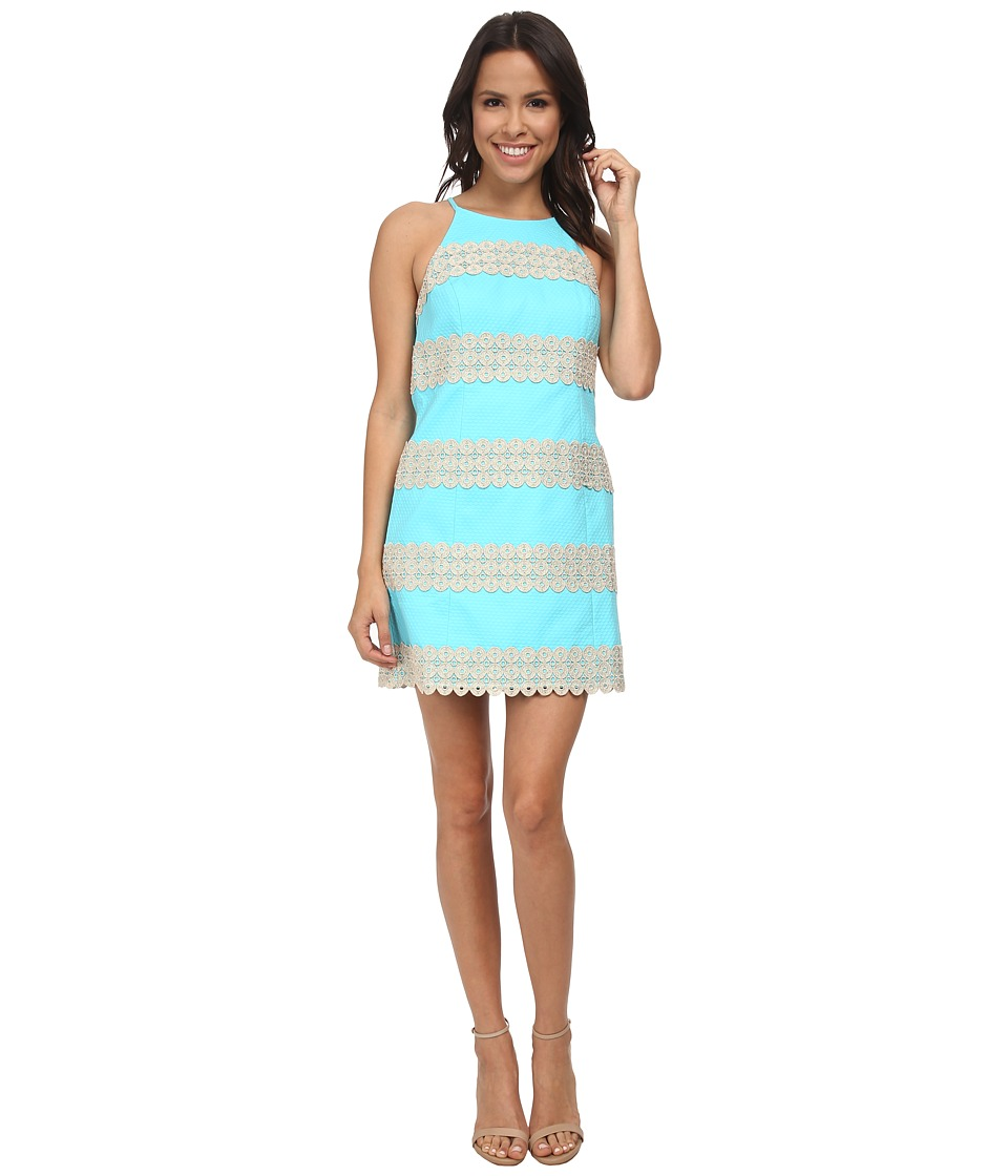 Lilly Pulitzer - Annabelle Shift Dress (Shorely Blue) Women's Dress