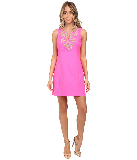 Lilly Pulitzer - Gabby Shift Dress (Pop Pink) Women's Dress