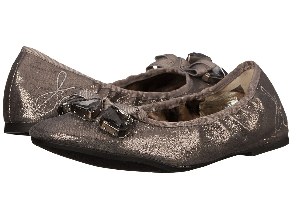 Sam Edelman Kids - Fayth (Little Kid/Big Kid) (Pewter Shimmer) Girl