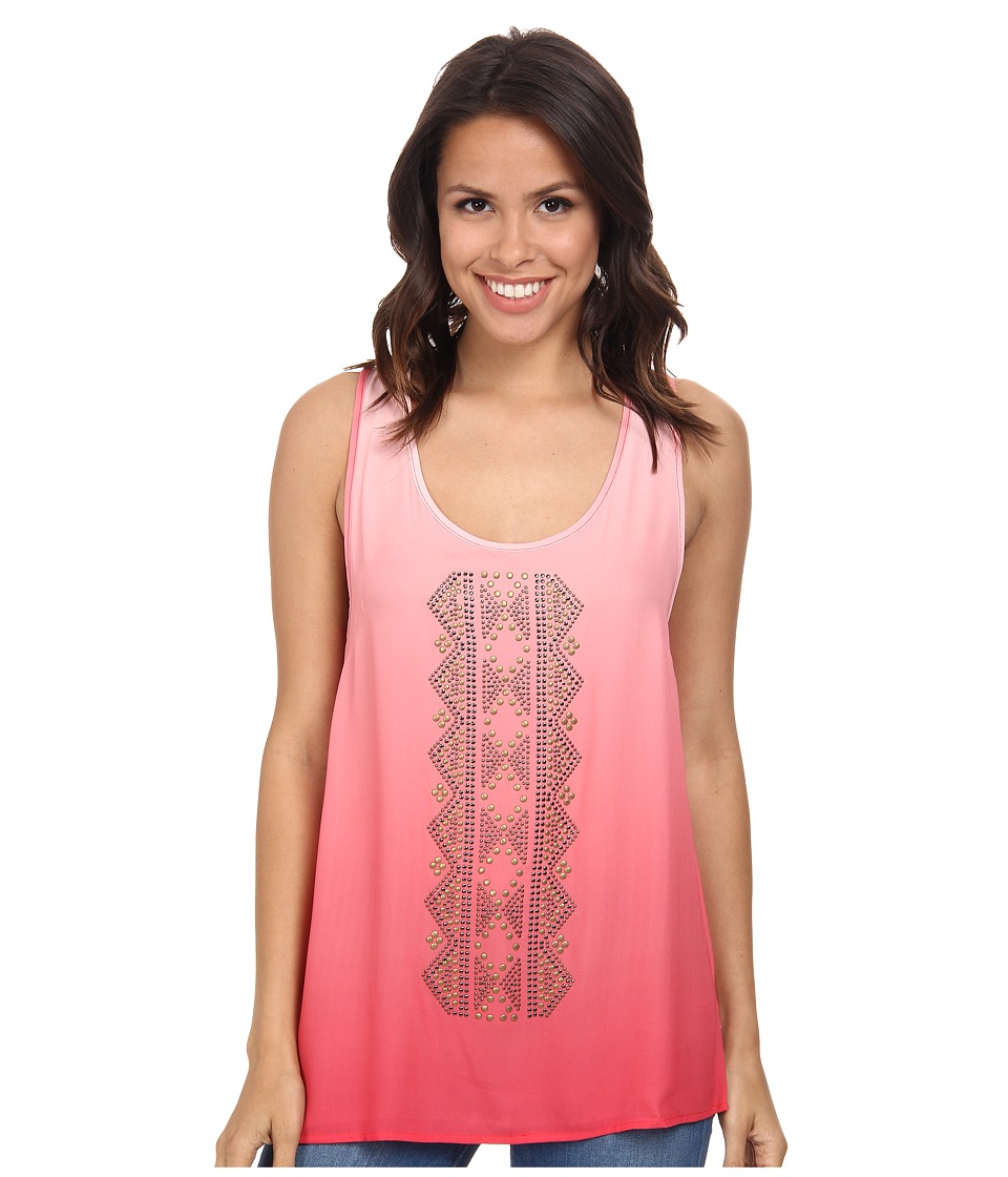 Rock and Roll Cowgirl - Sleeveless Top B5-3785 (Hot Pink) Women's Sleeveless