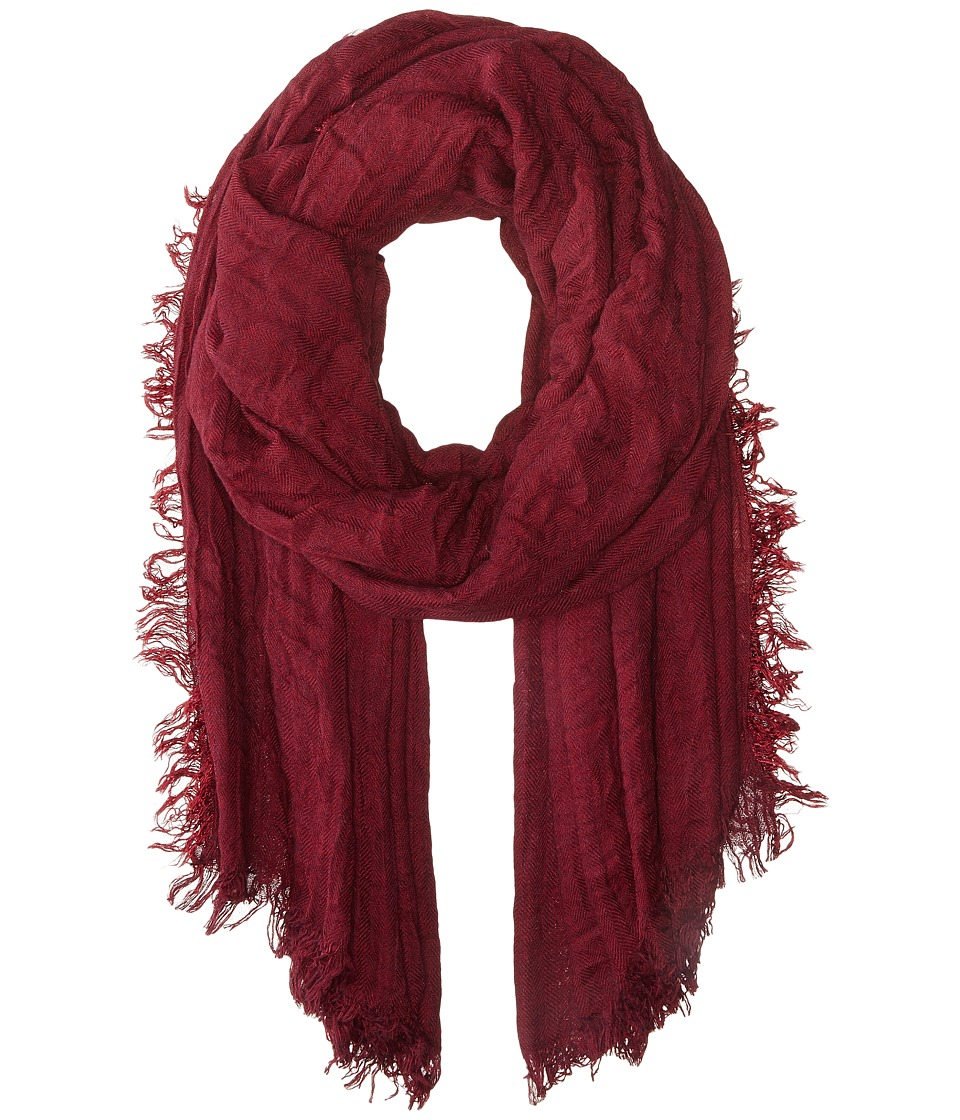 San Diego Hat Company - BSS1537 Oversized Scarf with Fray Edges (Port) Scarves