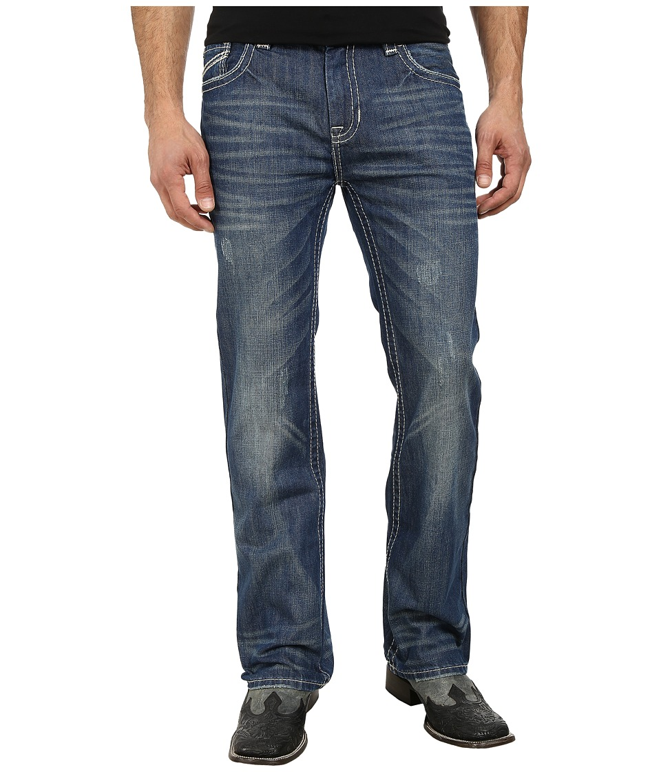 Rock and Roll Cowboy - Pistol Regular Fit M0P3188 (Dark Vintage) Men's Jeans