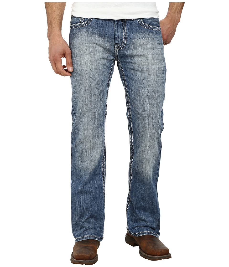 Rock and Roll Cowboy - Pistol Regular Fit M0P3187 (Light Wash) Men's Jeans
