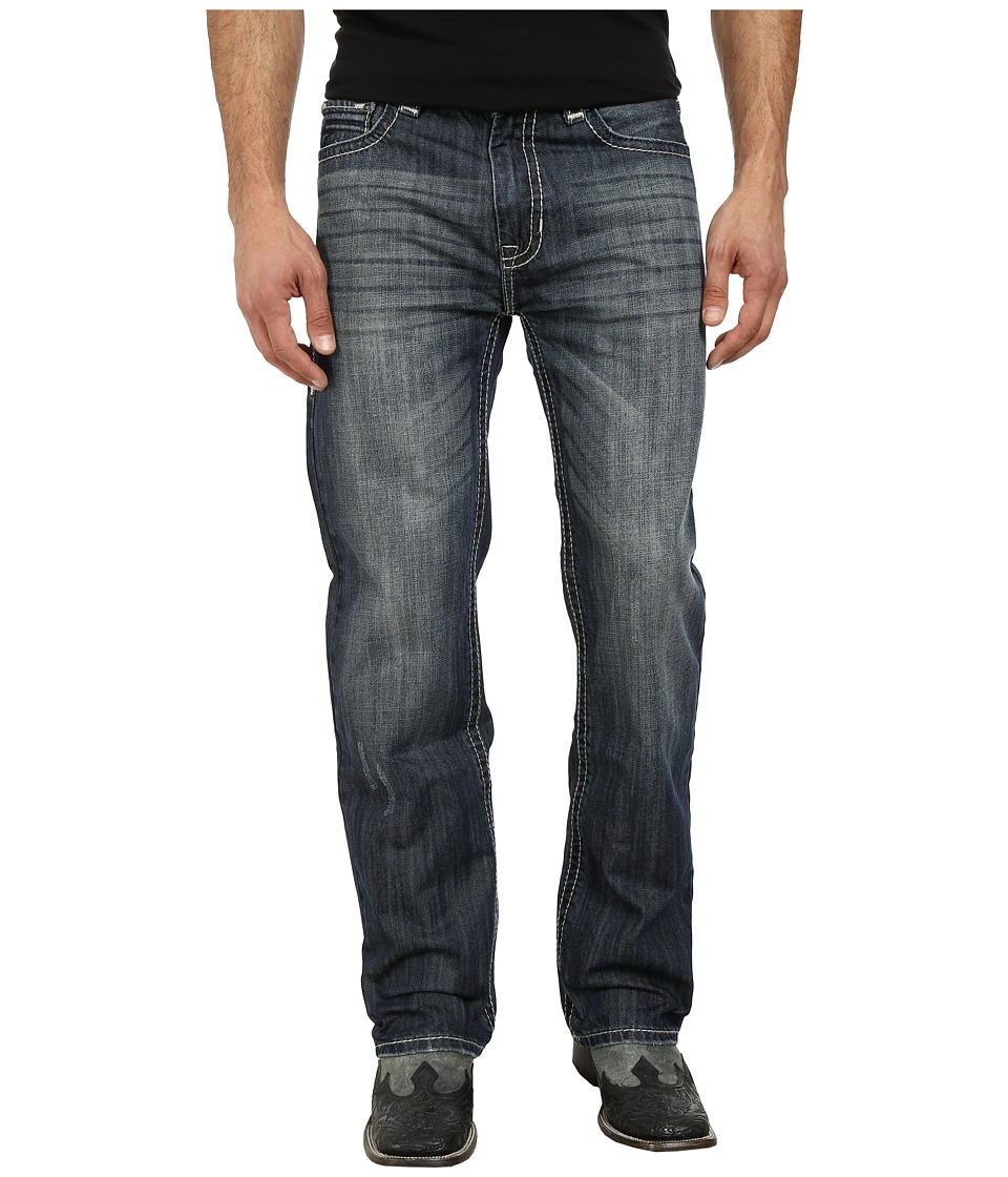 Rock and Roll Cowboy - Double Barrel Relax M0S3183 (Medium Wash) Men's Jeans