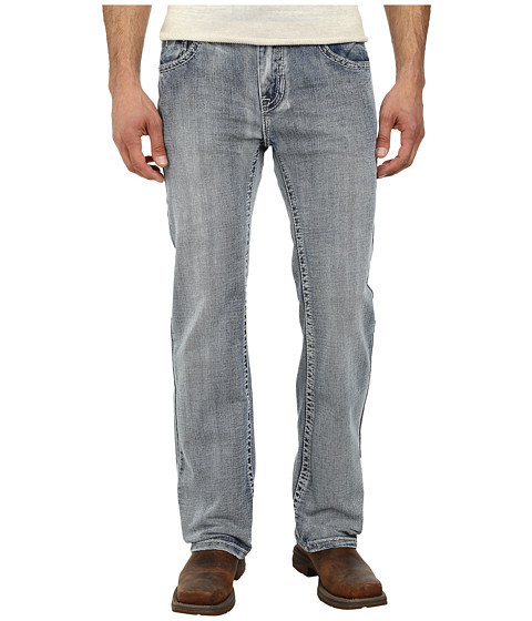 Rock and Roll Cowboy - Pistol Straight Leg M1P3198 (Light Wash) Men's Jeans