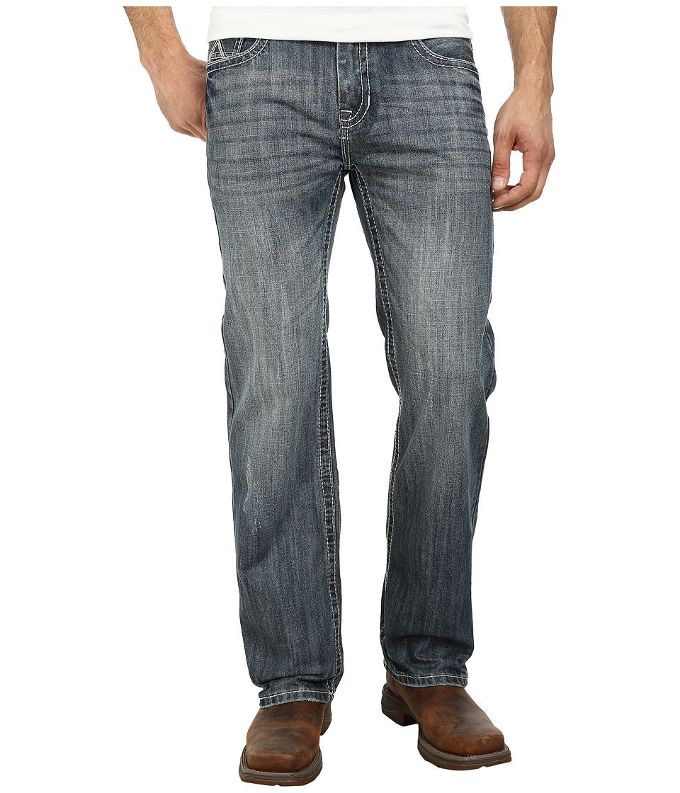 Rock and Roll Cowboy - Pistol Straight Leg M1P3189 (Medium Wash) Men's Jeans