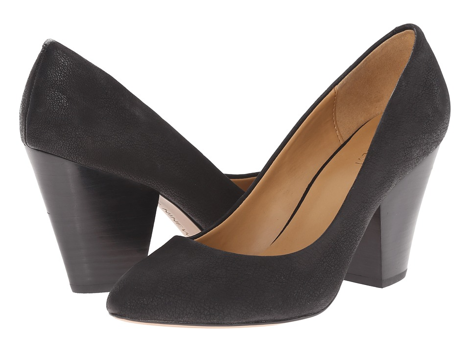 Nine West - Drummer (Black Nubuck) High Heels