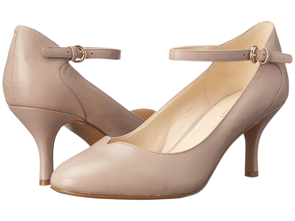 Nine West - Elope (Taupe Leather) High Heels
