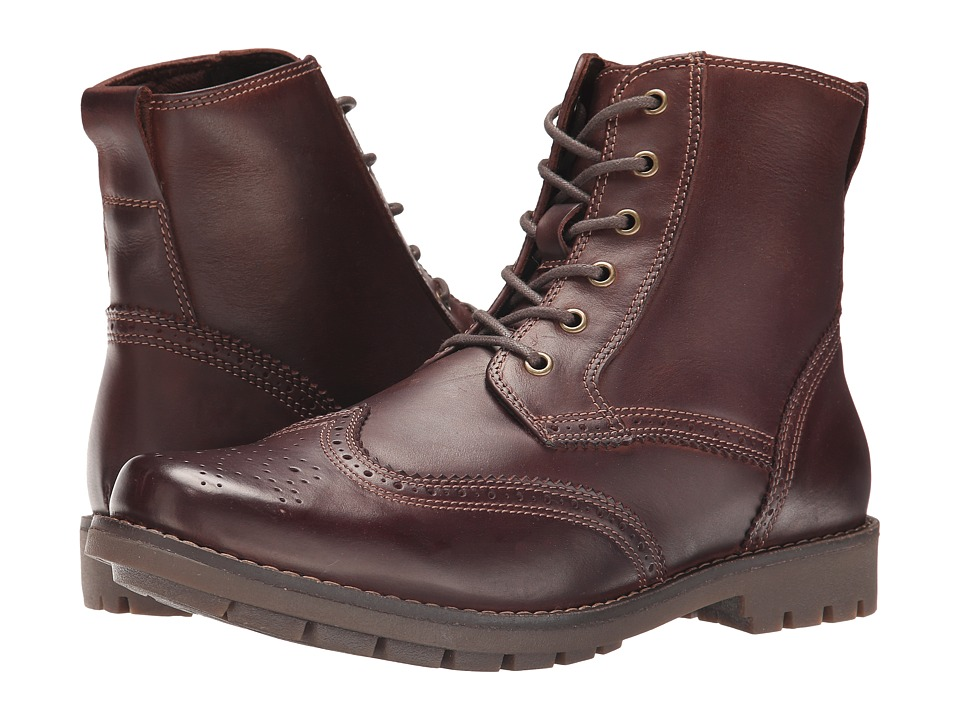 Dr. Scholl's - Scully (Mahogany) Men's Lace-up Boots