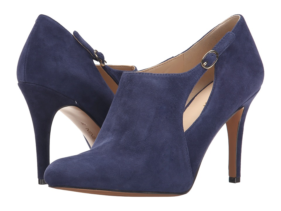 Nine West - Gemeza (Navy Suede) High Heels