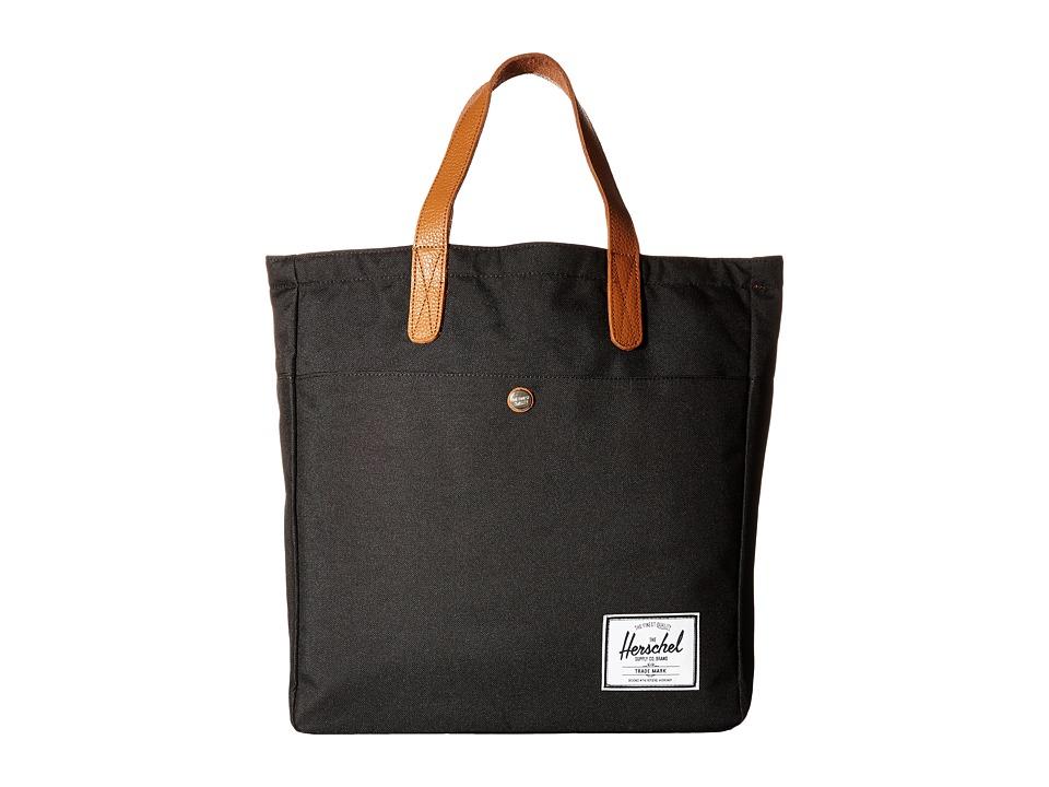 Herschel Supply Co. - Brohm (Black) Tote Handbags