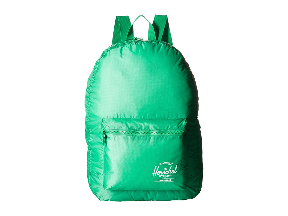 Herschel Supply Co. - Packable Daypack (Kelly Green) Backpack Bags