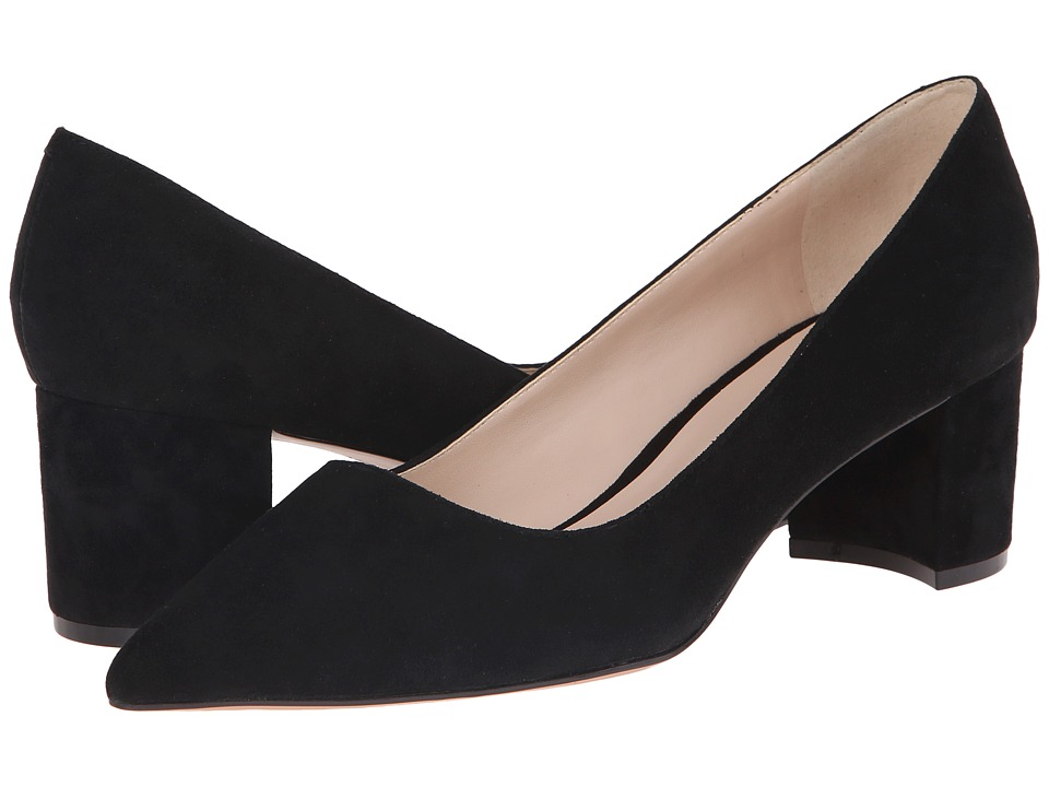 Nine West - Ike (Black Suede) Women's 1-2 inch heel Shoes