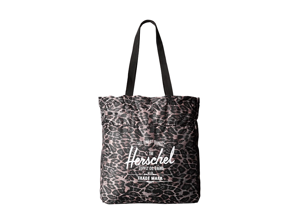 Herschel Supply Co. - Packable Travel Tote Bag (Leopard) Tote Handbags
