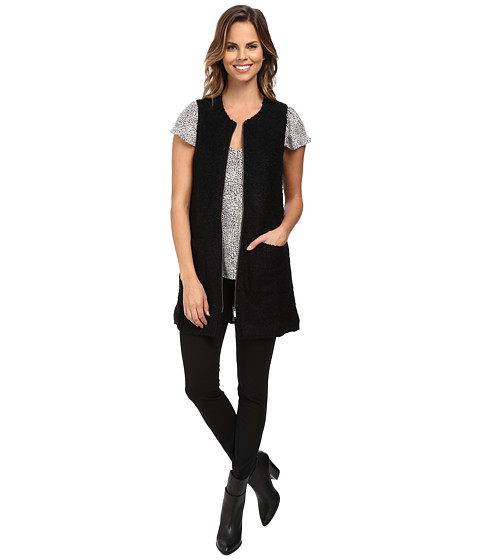 Sanctuary - Essential City Vest (Black) Women's Vest