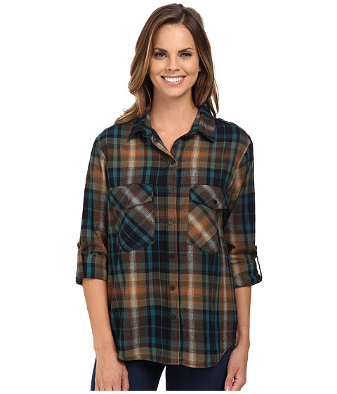 Sanctuary - Boyfriend Shirt (Isabelle Plaid) Women's Clothing