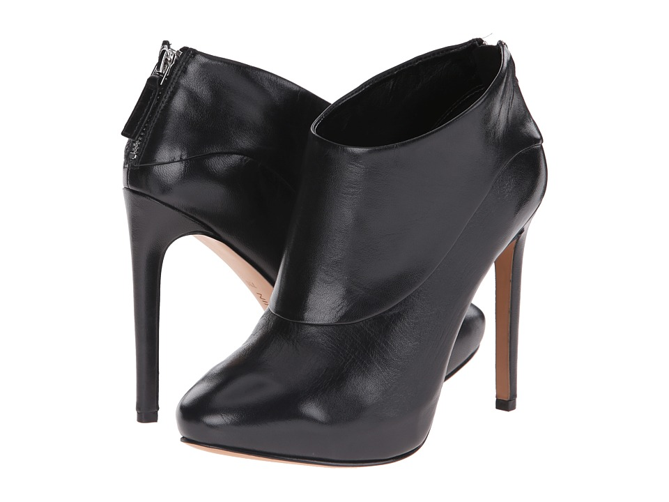 Nine West - 25015150 (Black Leather) High Heels