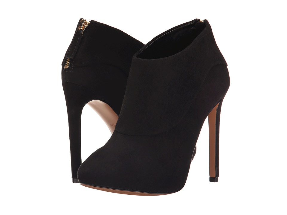 Nine West - 25015150 (Black Suede) High Heels