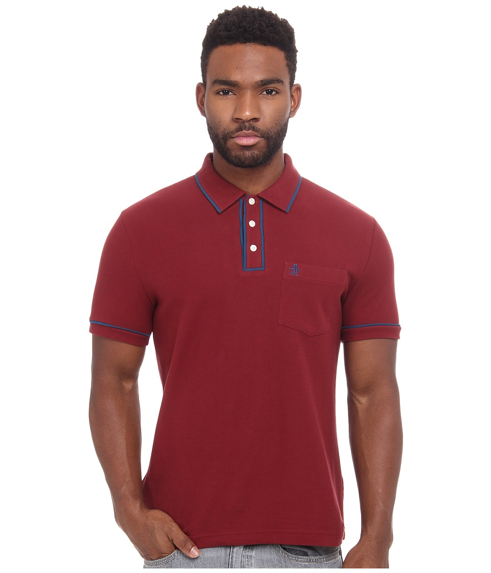 Original Penguin - Earl Heritage (Pomegranate) Men's Clothing
