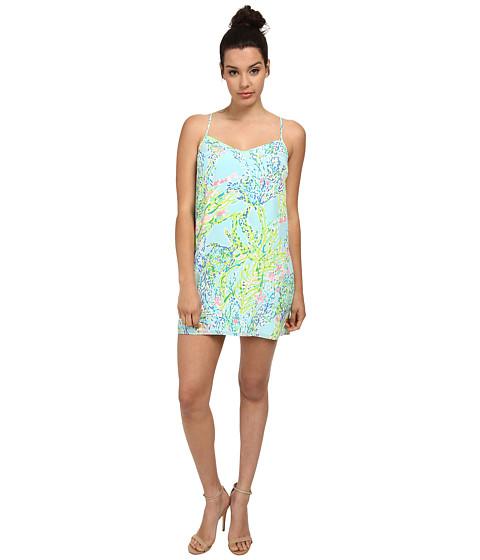 Lilly Pulitzer - Dusk Dress (Skye Blue Blue Heaven) Women