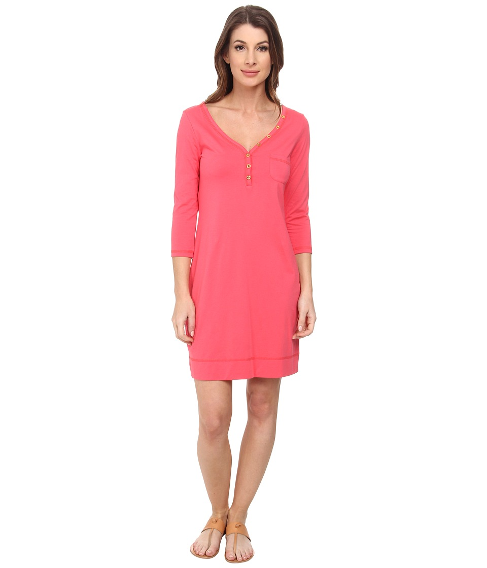 Lilly Pulitzer - Palmetto Dress (Island Coral) Women's Dress