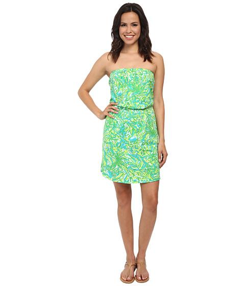 Lilly Pulitzer - Windsor Strapless Pull-On Dress (Fresh Citrus) Women