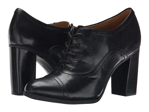 Nine West - Nostalgia (Black Leather) High Heels