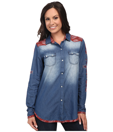 Tasha Polizzi - Outlaw Shirt (Multi) Women's Clothing