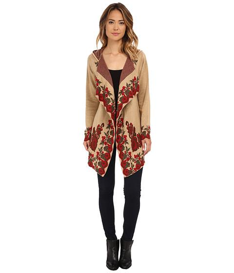 Tasha Polizzi - Carriage Blanket Cardigan (Hop Sack) Women's Sweater
