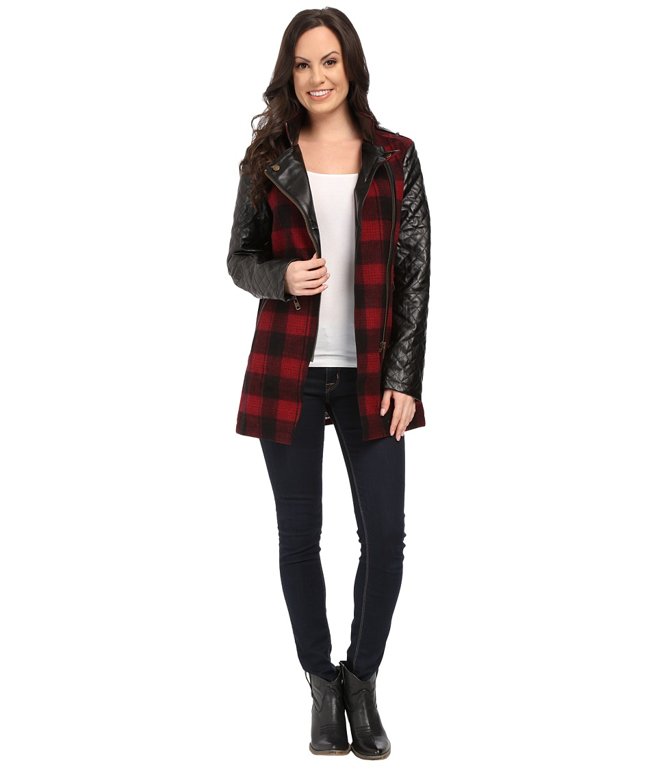 Tasha Polizzi - Field Jacket (Red/Black) Women's Coat