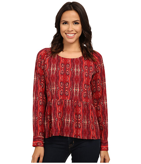 Sanctuary - Organic Boho Blouse (Scarf) Women