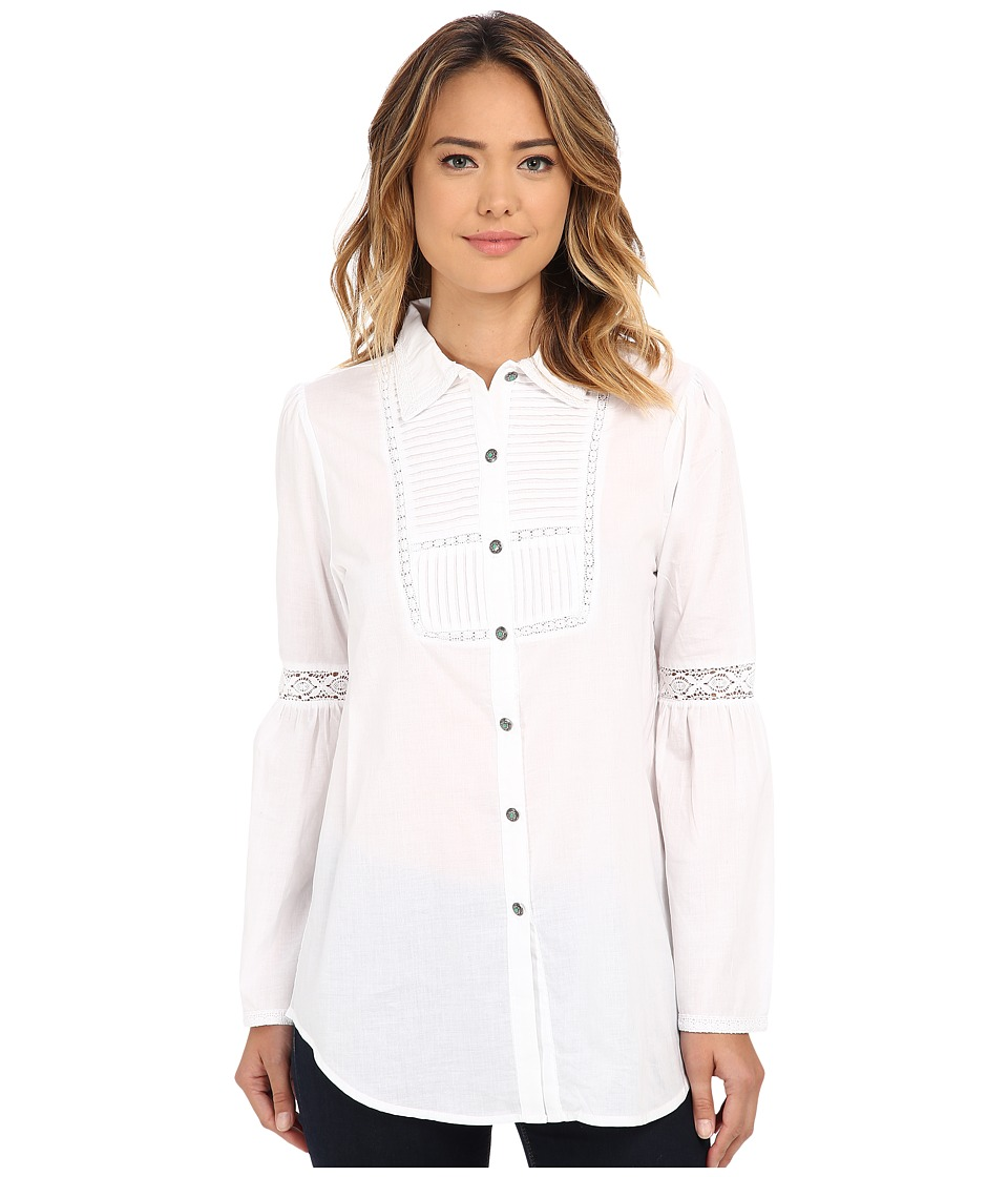 Tasha Polizzi - Hudson Shirt (White) Women's Clothing
