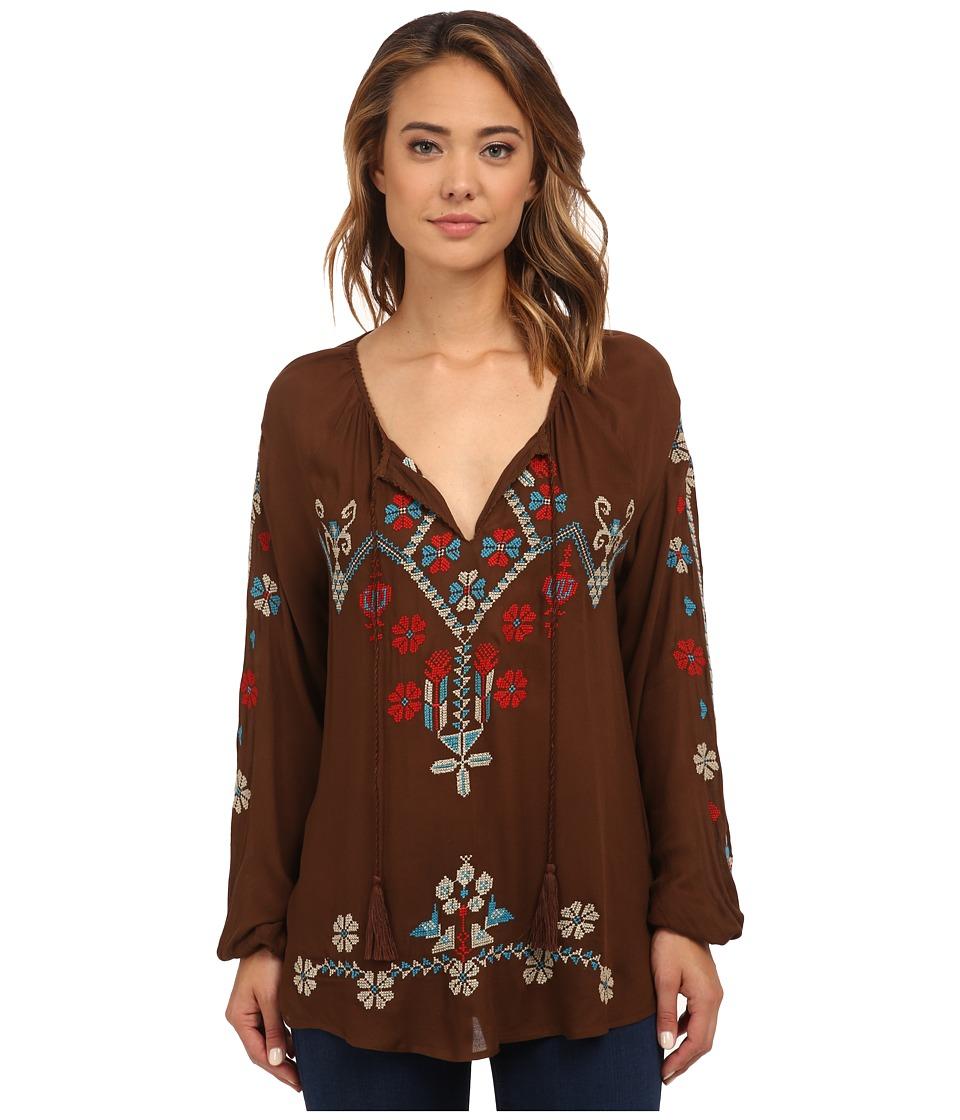 Tasha Polizzi - Cheyenne Shirt (Mud) Women's Clothing