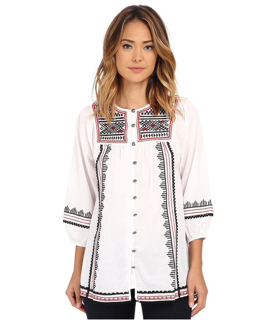 Tasha Polizzi - Caravan Shirt (White) Women's Clothing