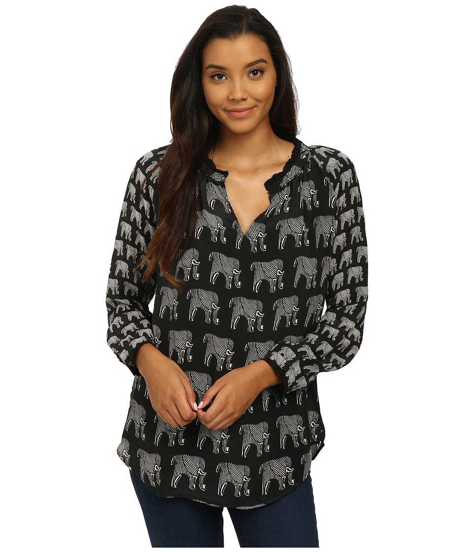 Tolani - Lynn Top (Elephant) Women's Clothing