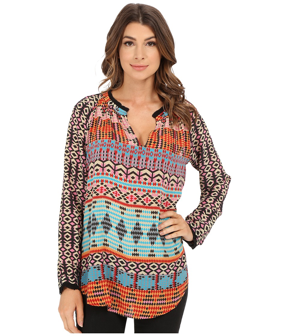 Tolani - Lynn Top (Orange) Women's Clothing