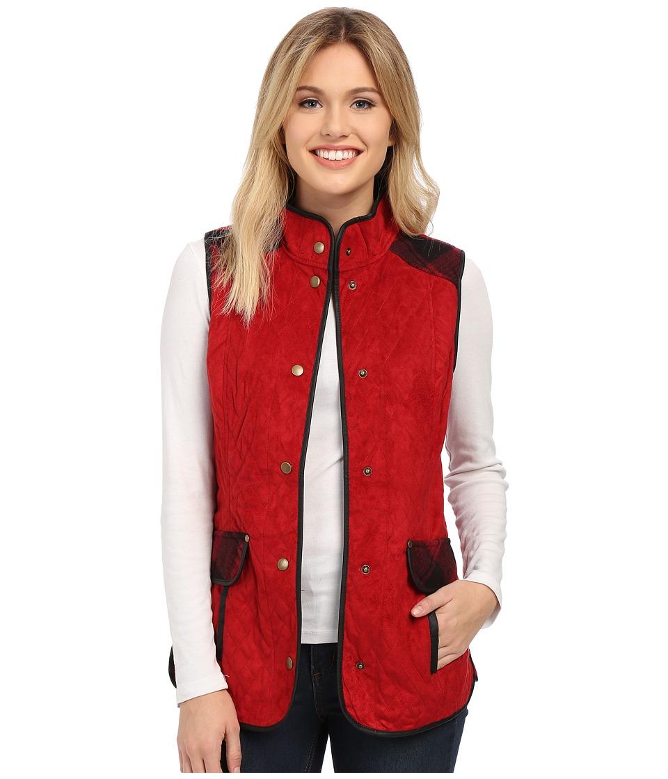 Tasha Polizzi - Sporting Vest (Red) Women's Vest