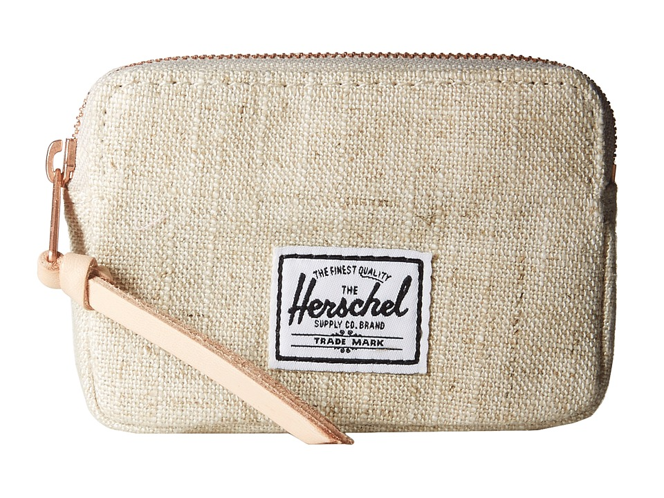Herschel Supply Co. - Oxford Pouch (Natural) Wallet Handbags