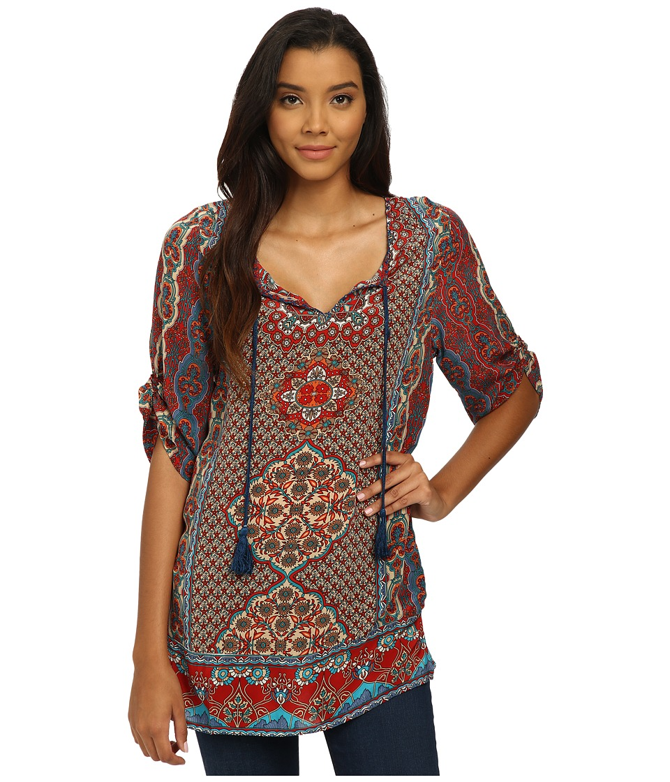 Tolani - Keira Tunic (Denim) Women's Blouse