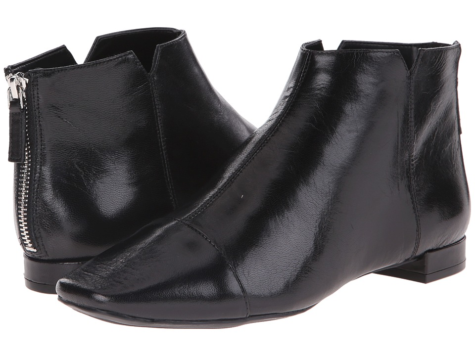 Nine West Soozie (Black Leather) Women