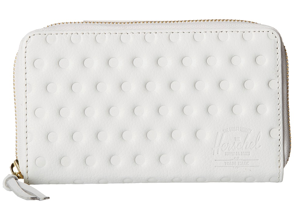 Herschel Supply Co. - Thomas (White Emboss) Wallet Handbags