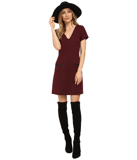 Sanctuary - Little Red Dress (Mulberry) Women