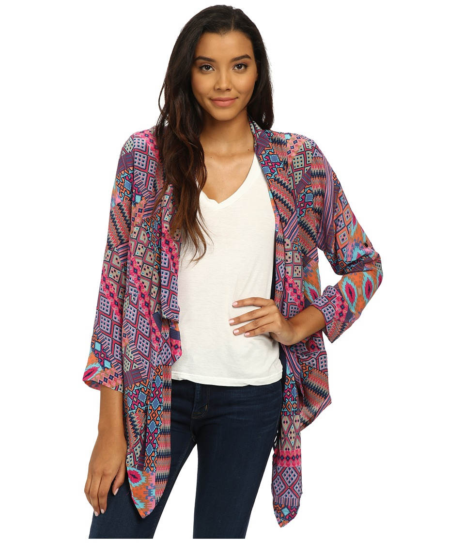 Tolani - Gemma Jacket (Patchwork) Women's Coat