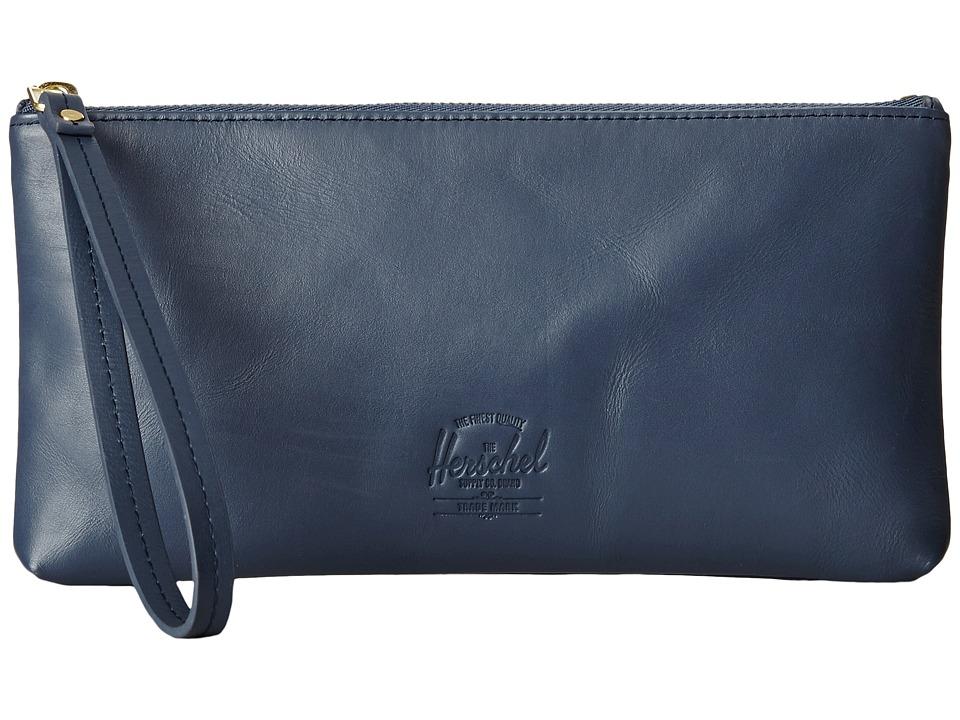Herschel Supply Co. - Casey (Navy) Clutch Handbags